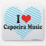 Amo la música de Capoeira Alfombrilla De Ratón