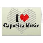 Amo la música de Capoeira Felicitación