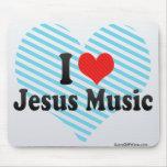 Amo la música de Jesús Alfombrilla De Raton