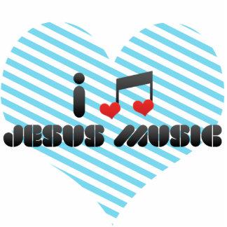 Amo la música de Jesús Fotoescultura Vertical