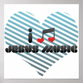 Amo la música de Jesús Poster