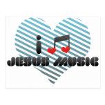 Amo la música de Jesús Postales