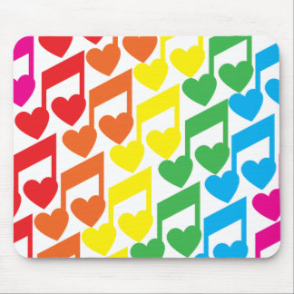 Amo la música Mousepad Alfombrillas De Ratón
