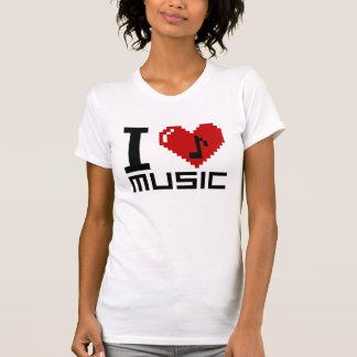 Amo la música - thsirt audio camisas