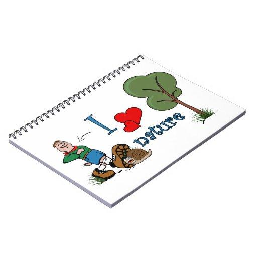 Amo la naturaleza note book