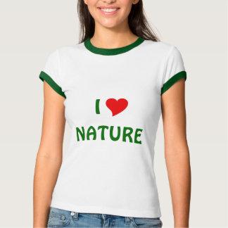 Amo la naturaleza remeras