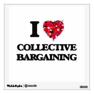 Amo la negociación colectiva vinilo