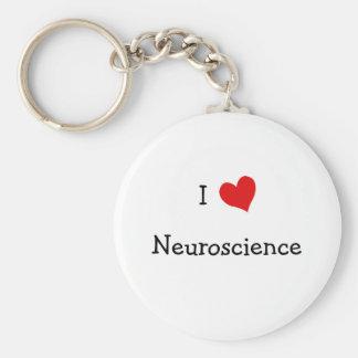 Amo la neurología llavero redondo tipo pin