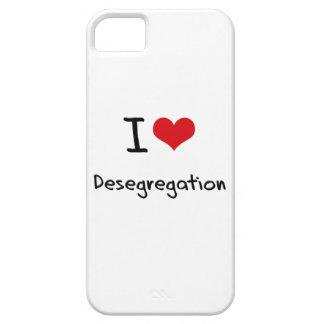 Amo la no segregación iPhone 5 carcasa