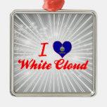 Amo la nube blanca, Kansas Ornamente De Reyes