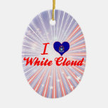 Amo la nube blanca, Michigan Ornamente De Reyes