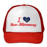 Amo la nueva armonía, Utah Gorros Bordados