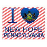 Amo la nueva esperanza, PA Postal