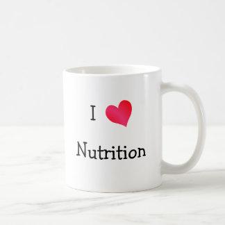 Amo la nutrición taza clásica