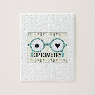 Amo la optometría rompecabezas