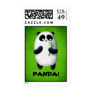 Amo la panda sello