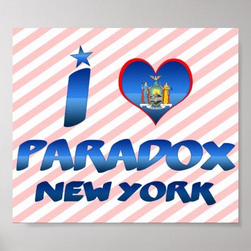 Amo la paradoja, Nueva York Posters