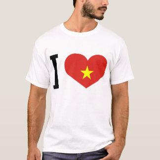 Amo la parte posterior de Vietnam: ruegue para Playera