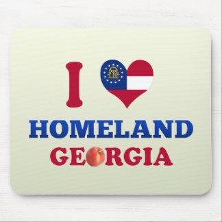 Amo la patria, Georgia Alfombrillas De Ratones