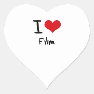 Amo la película calcomania de corazon