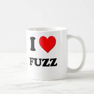 Amo la pelusa tazas de café