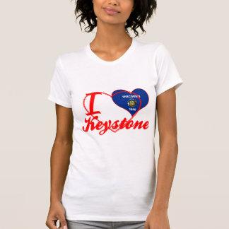 Amo la piedra angular, Wisconsin Camisetas