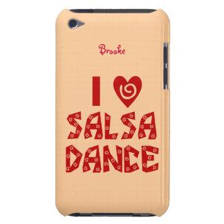 Amo la piel personalizada danza del tacto de iPod  iPod Touch Case-Mate Funda