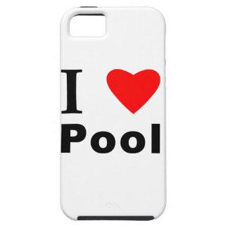 Amo la piscina funda para iPhone SE/5/5s