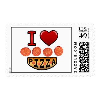 Amo la pizza de salchichones sellos
