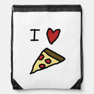 Amo la pizza mochilas