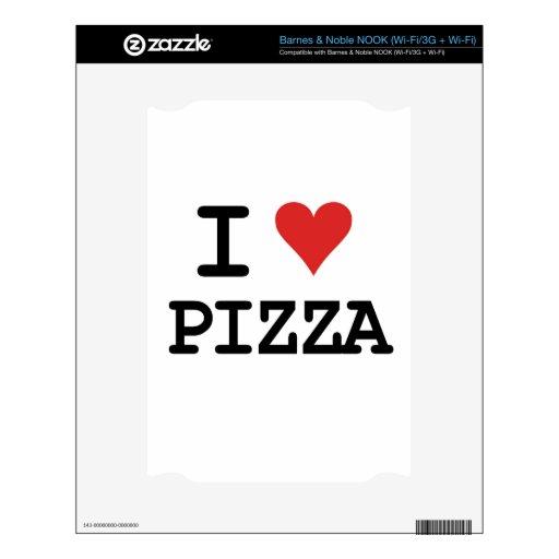 Amo la pizza NOOK skin