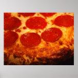 Amo la pizza póster