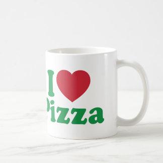Amo la pizza taza clásica