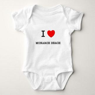 Amo la playa California del monarca Playeras