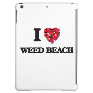 Amo la playa Connecticut de la mala hierba