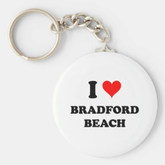 Amo la playa de Bradford Llavero