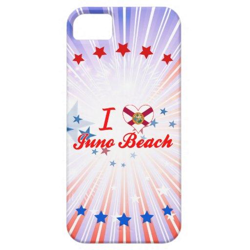 Amo la playa de Juno, la Florida iPhone 5 Cobertura