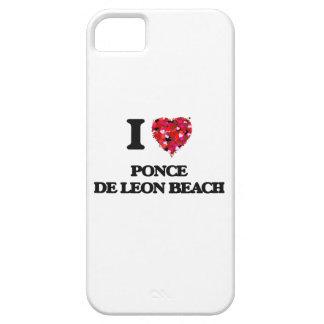 Amo la playa la Florida de Ponce De León iPhone 5 Funda