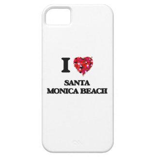 Amo la playa la Florida de Santa Mónica iPhone 5 Carcasa