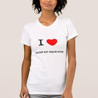Amo la playa la Florida del sur de la bahía del pe Camiseta