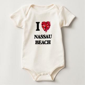 Amo la playa Nueva York de Nassau Mamelucos