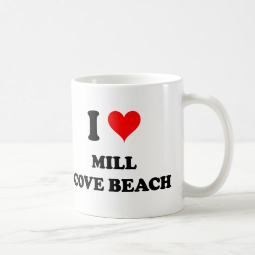 Amo la playa Rhode Island de la ensenada del molin Taza