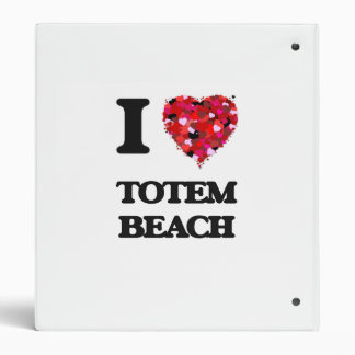 """Amo la playa Washington del tótem Carpeta 1"""""""
