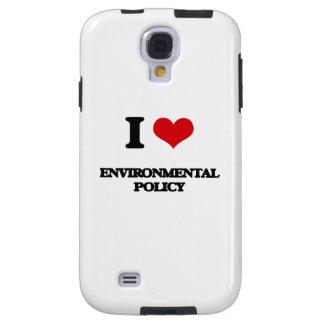 Amo la política medioambiental funda para galaxy s4