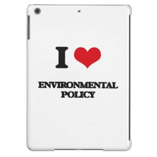 Amo la política medioambiental funda para iPad air