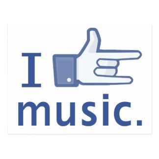 Amo la postal de la música