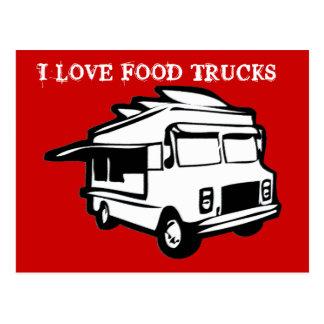 Amo la postal de los camiones de la comida