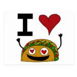 Amo la postal del Taco