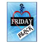 Amo la postal negra de viernes