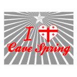 Amo la primavera de la cueva, Georgia Postal